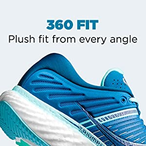saucony triumph 17 360 fit plush fit from every angle