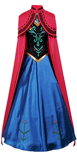 Princess Cosplay Costume with Cloak