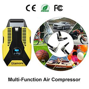 Portable air compressor car tires1
