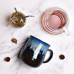 big large oversized stoneware coffee mug tea cup