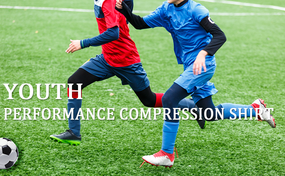 boys compression shirt