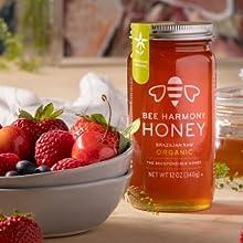 Organic jar with fruit bowl