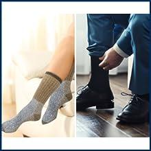 Warm & cozy socks for snow activities.