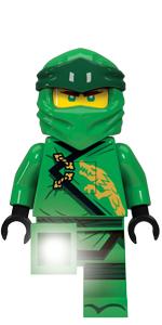LEGO Ninjago Legacy Lloyd Minifigure Torch Flashlight