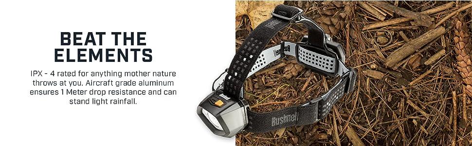 powerful hunting tracking light headlamp durable headlight bushnell headlamp weatherproof emergency