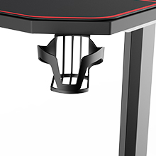 cup holder  AuAg 55″ Enhanced Larger Gaming Desk with Free Mouse Pad, Cup Holder Headphone & Speaker Hook, Powerful Cabling Management Home Office Computer PC Streamer Desk 3841ff1b 3c96 4242 b3b4 88e4788583b9