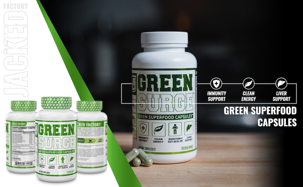 Green Surge Superfood Capsules