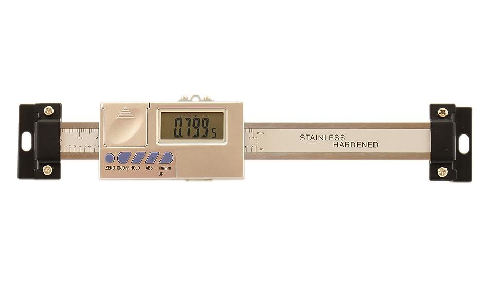 "4/""//100mm Vertical Linear Digital Scale Measurement Quill Kit Bridgeport Vertical"