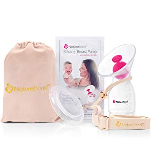 naturebond pump strap silicone pump manual breastmilk saver