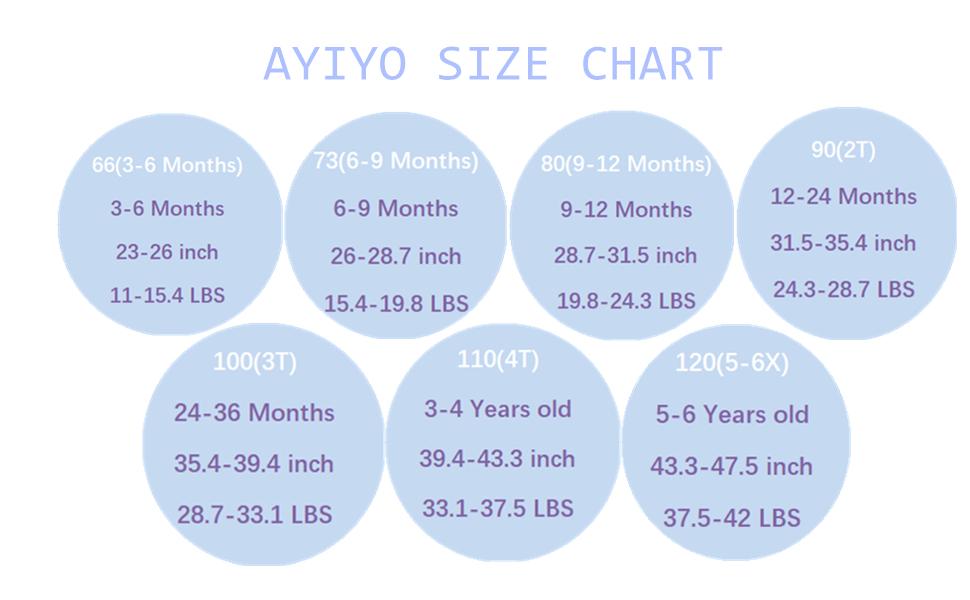 AYIYO baby shorts size