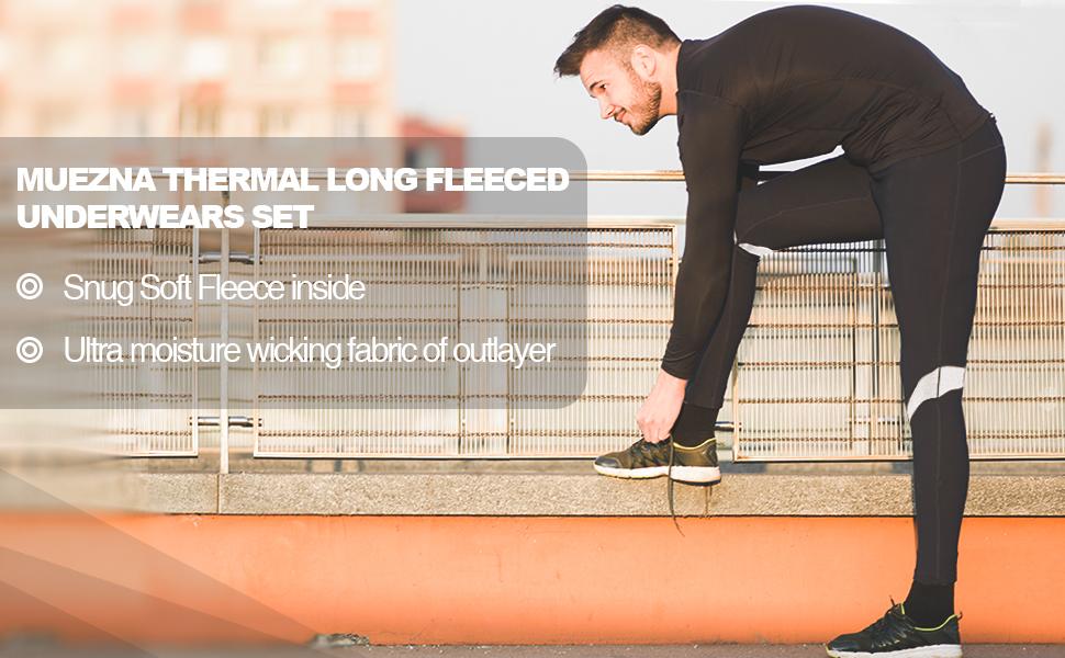 Thermal long underwears
