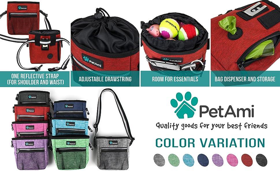 PetAmi Premium Dog Training Pouch