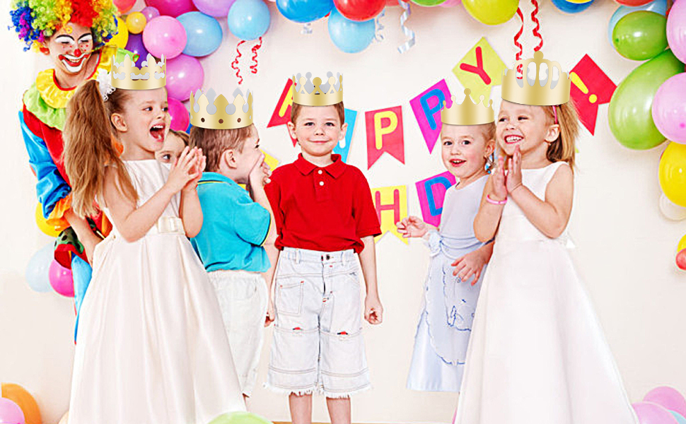 paper crowns for kids to decorate
