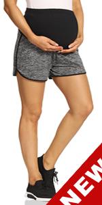 maternity shorts maternity biker shorts for women maternity gym shorts maternity shorts over belly