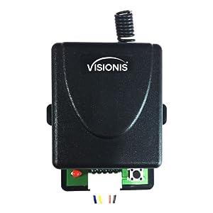 12v wirelss remote control switch rf receiver and transmitter 12 volt gate dc garage door
