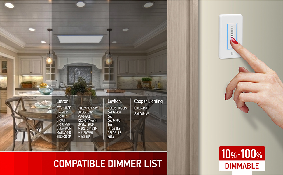compatible dimmers list