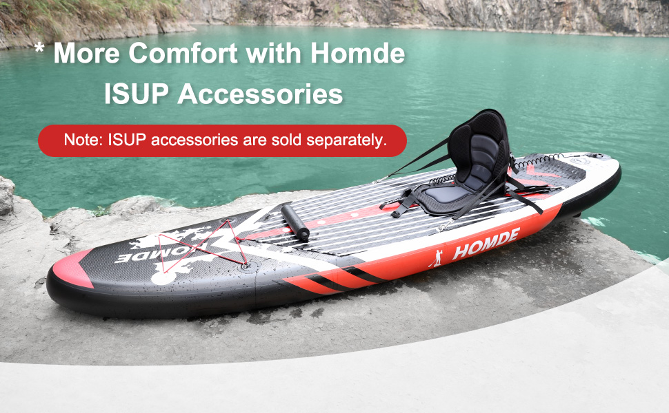 ISUP Accessories by Homde Paddle Board