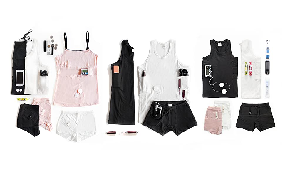 Annaps insulin pump clothes for kids, men, and women