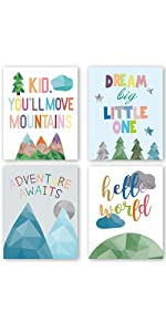 abstract quotes posters