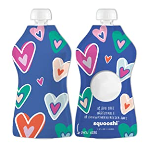 Squooshi Reusable Food Pouches Simple Modern Designs