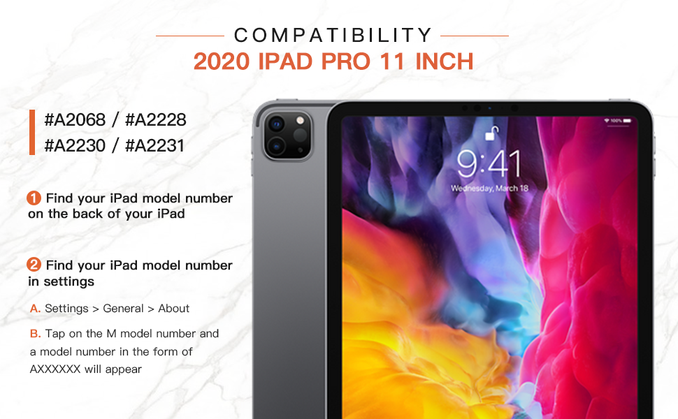 You can find your ipad model number on the back or the setting of your ipad