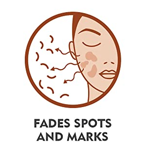 Fades spots and marks