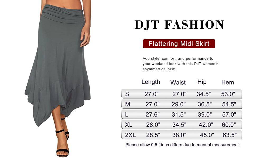 Damen Rock Ruched Jersey Skirt find
