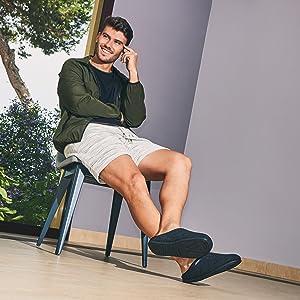 zapatillas fieltro, fieltro natural, slippers recicladas, plantillas recicladas, suela flexible