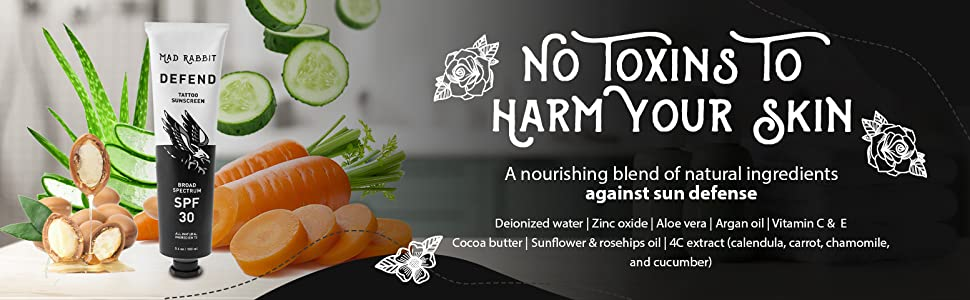 No Toxins To Harm Your Skin