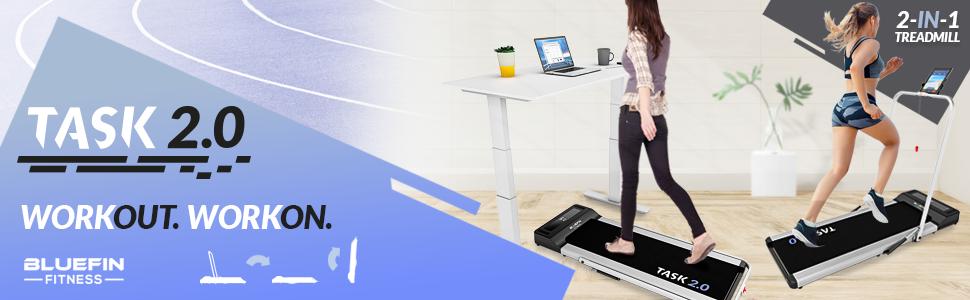 Bluefin Fitness Task 2.0 Treadmill