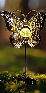 Butterfly Solar Lights