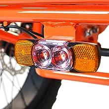 rear tail light e bike