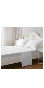 queen white size sheet