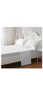 queen white size sheet