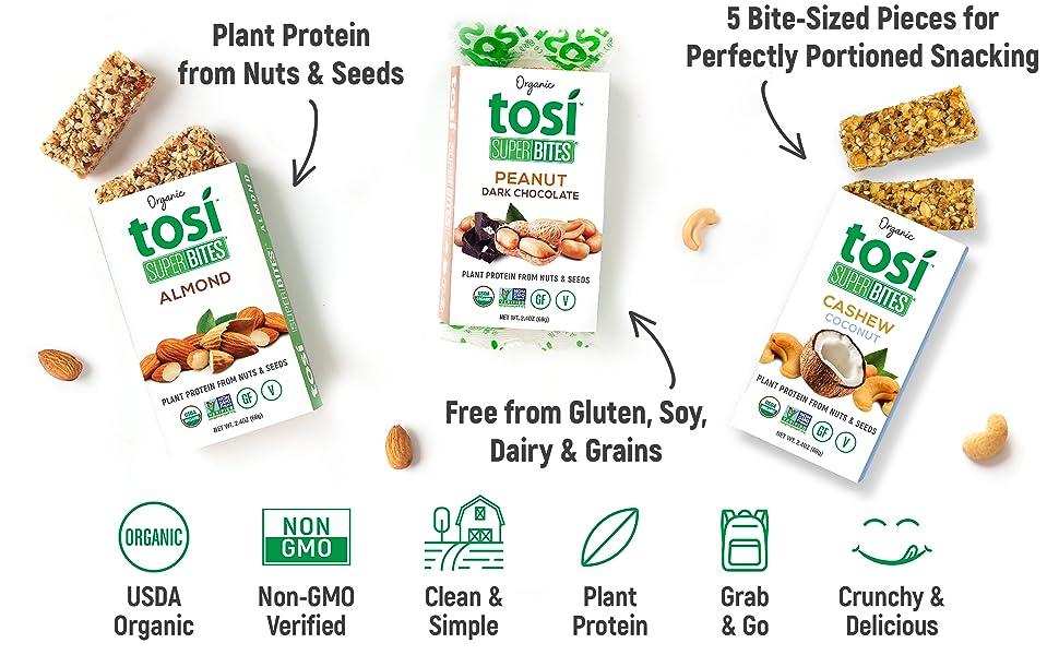 Plant Protein, Bar, Gluten Free, Soy Free