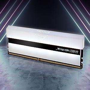 TEAMGROUP T-Force Xtreem ARGB 16GB Kit 2x8GB Dual Channel DDR4 SDRAM Desktop Gaming Memory Ram