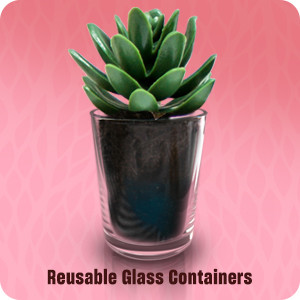Reuse glass containers