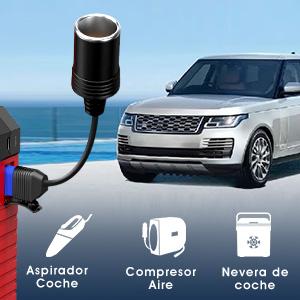 SUAOKI U27 Arrancador de Coches 2500A, 25000mAh Arrancador ignífugo para Coches de All Gas, 8.5L Diesel con QC3.0, USB Tipo-C, Carga rápida, EC5 Cable, Linterna LED, Pinzas Inteligentes: Amazon.es: Coche y moto