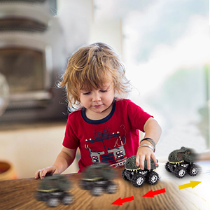 Pull Back Vehicles toys for 3 year old boys