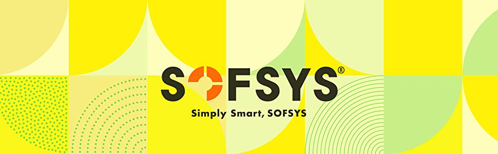 SOFSYS Folding Desk for Small Space