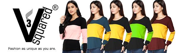 Women's T Shirt, Women's Top, T Shirt For Women, full Sleeve T Shirt, Girls T Shirt, Cotton T Shirt