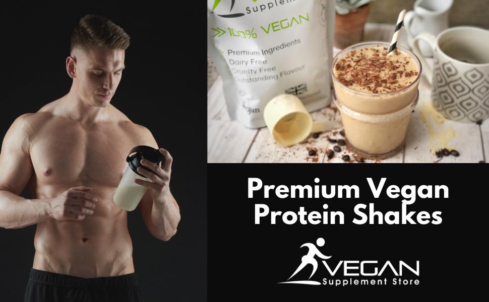 Premium Vegan Protein Powders