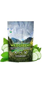Truwild Wildgreens, Reduce Stress, Balance PH, Promote Anti Aging, Detoxify, Improve Gut Health