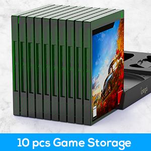 10 games storage