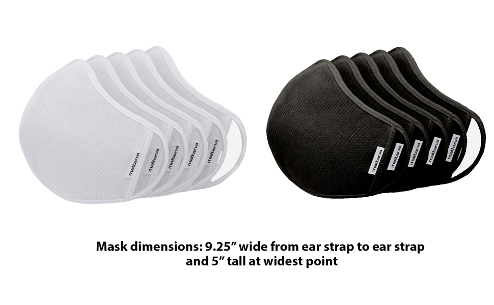 Mask Dimensions