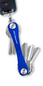 keysmart blue key organizer