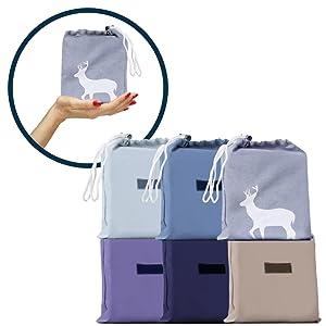 JUISEE Sleeping Bag Liner Lightweight Portable Sleeping Sheet Dirt-Proof Compact Travel Sheet