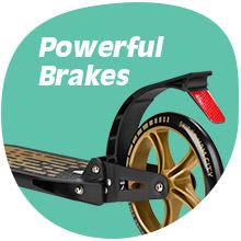 Reflector and strong brake