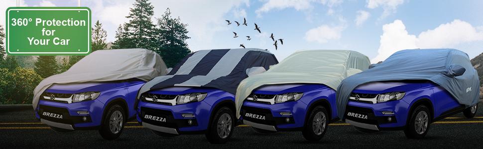 AllExtreme Car Body Cover for Maruti Suzuki Vitara Brezza
