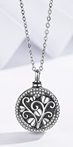 Urn Tree of Love Necklaces